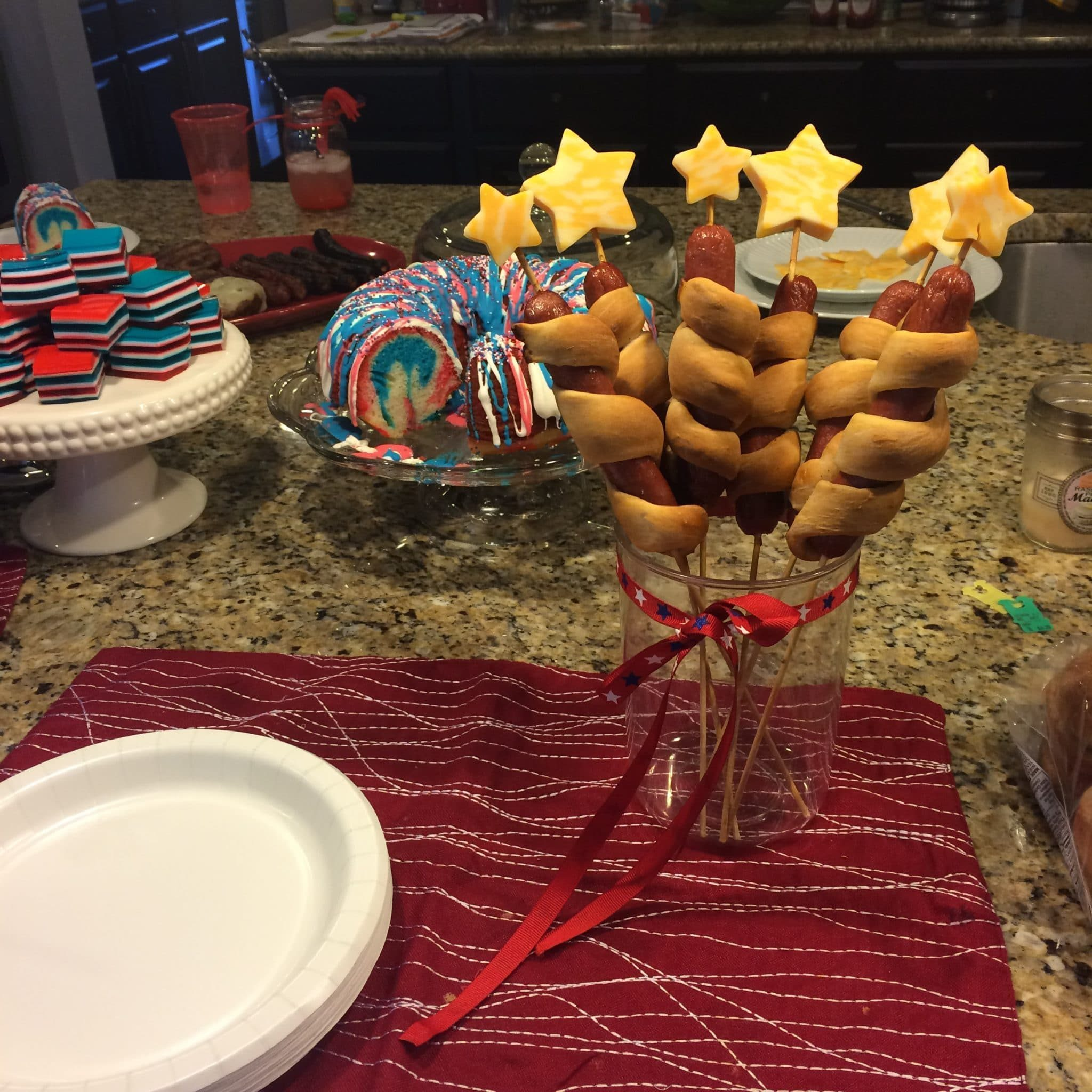 Firecracker Hotdogs, uly 4th Food, Stilettos and Diapers