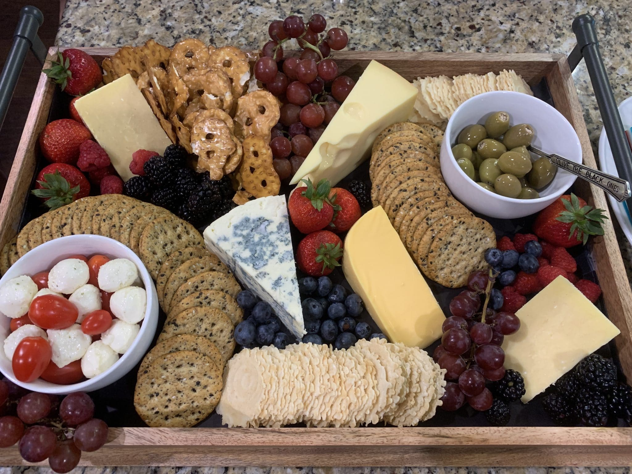 Patriotic Cheese Board, uly 4th Food, Stilettos and Diapers