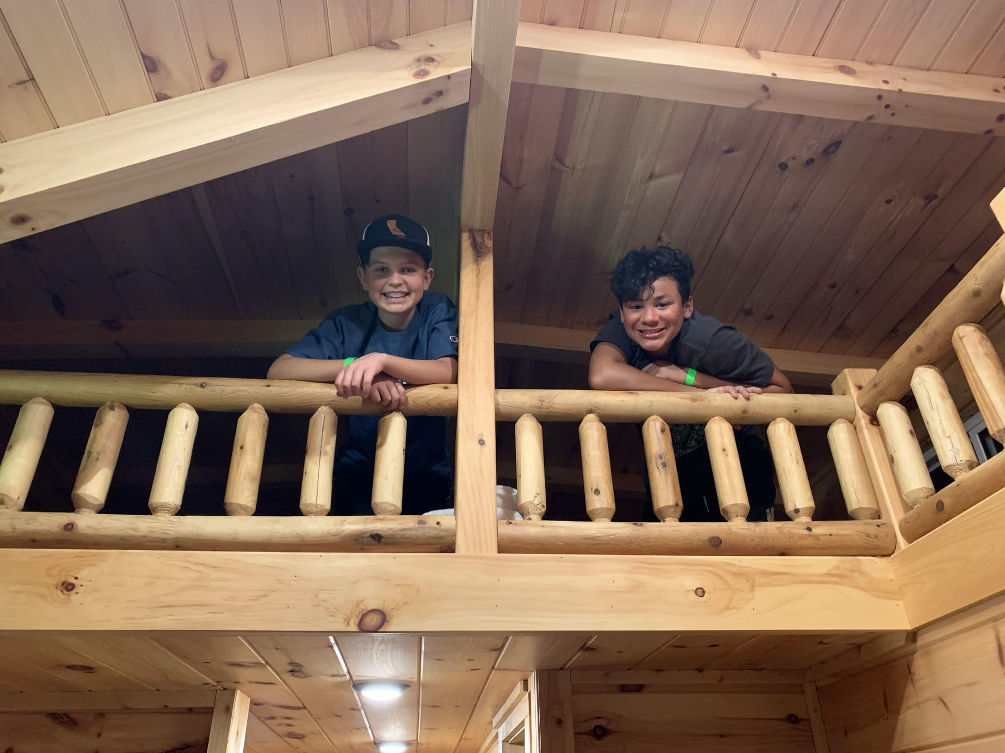 Sycamore Loft Cabin, Jellystone Golden Valley, North Carolina Camping, Glamping, Stilettos and Diapers