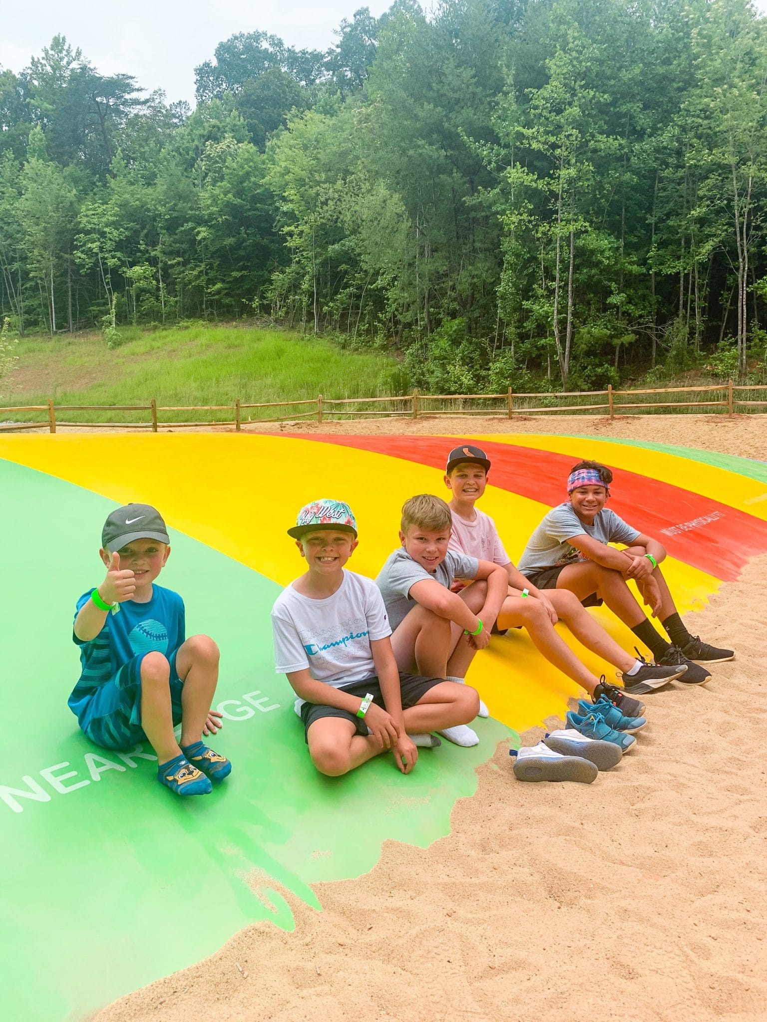Jellystone Golden Valley, Bostic North Carolina, Charlotte Camping Trip, Stilettos and Diapers