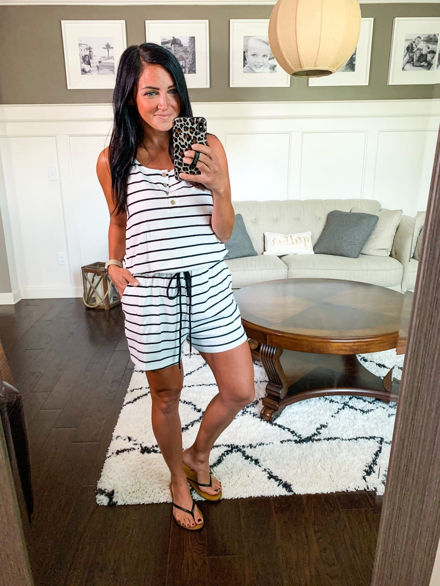 Amazon Finds, Summer Wardrobe, Stilettos and Diapers, Casual Romper, Stripe Romper