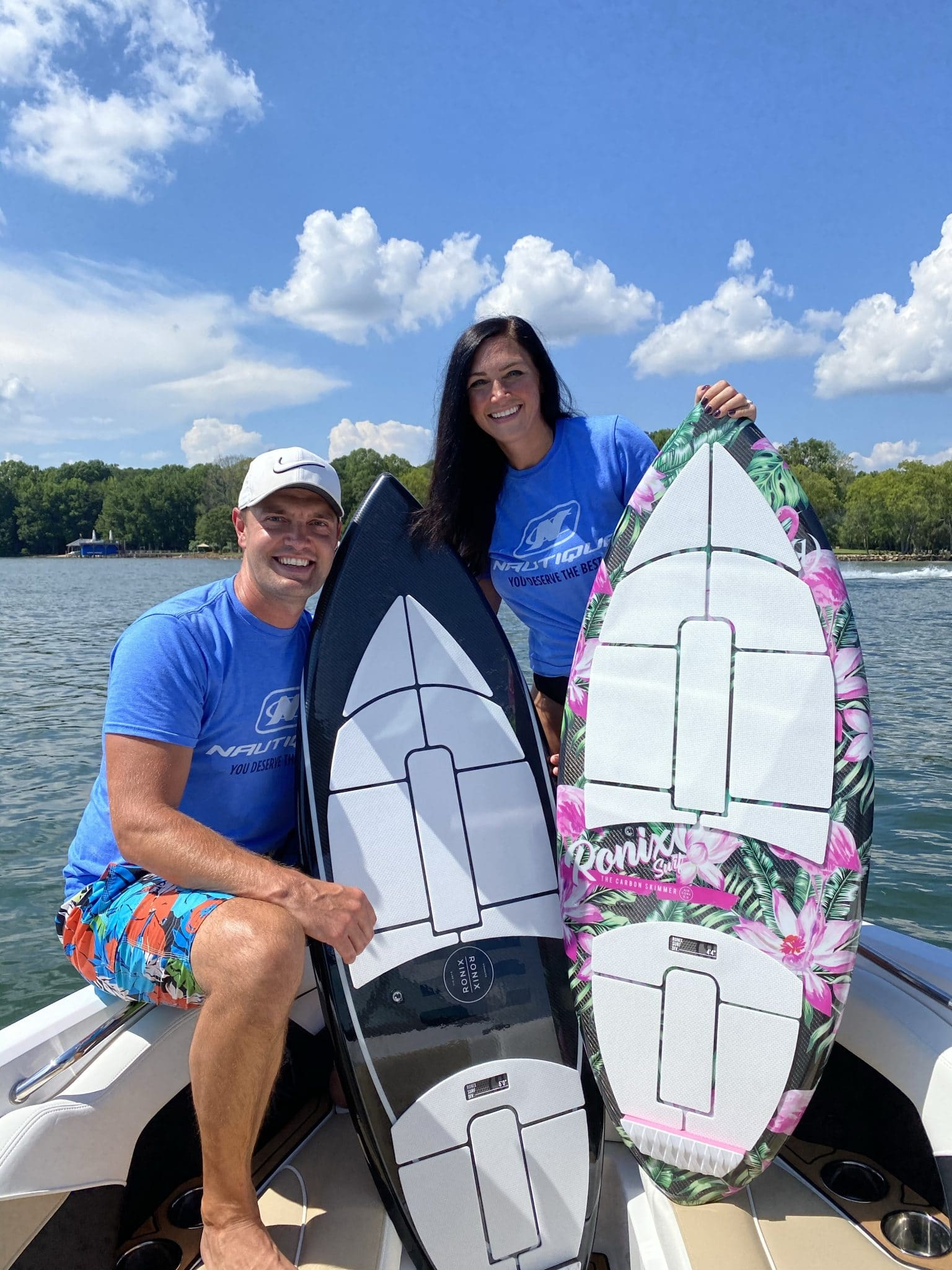 40th Birthday, Lake Norman, Stilettos and Diapers, Wake Surfing, Ronix