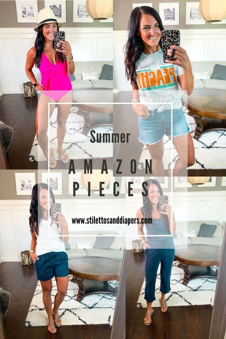 Amazon Finds, Summer Wardrobe, Amazon Summer Pieces, Stilettos and Diapers