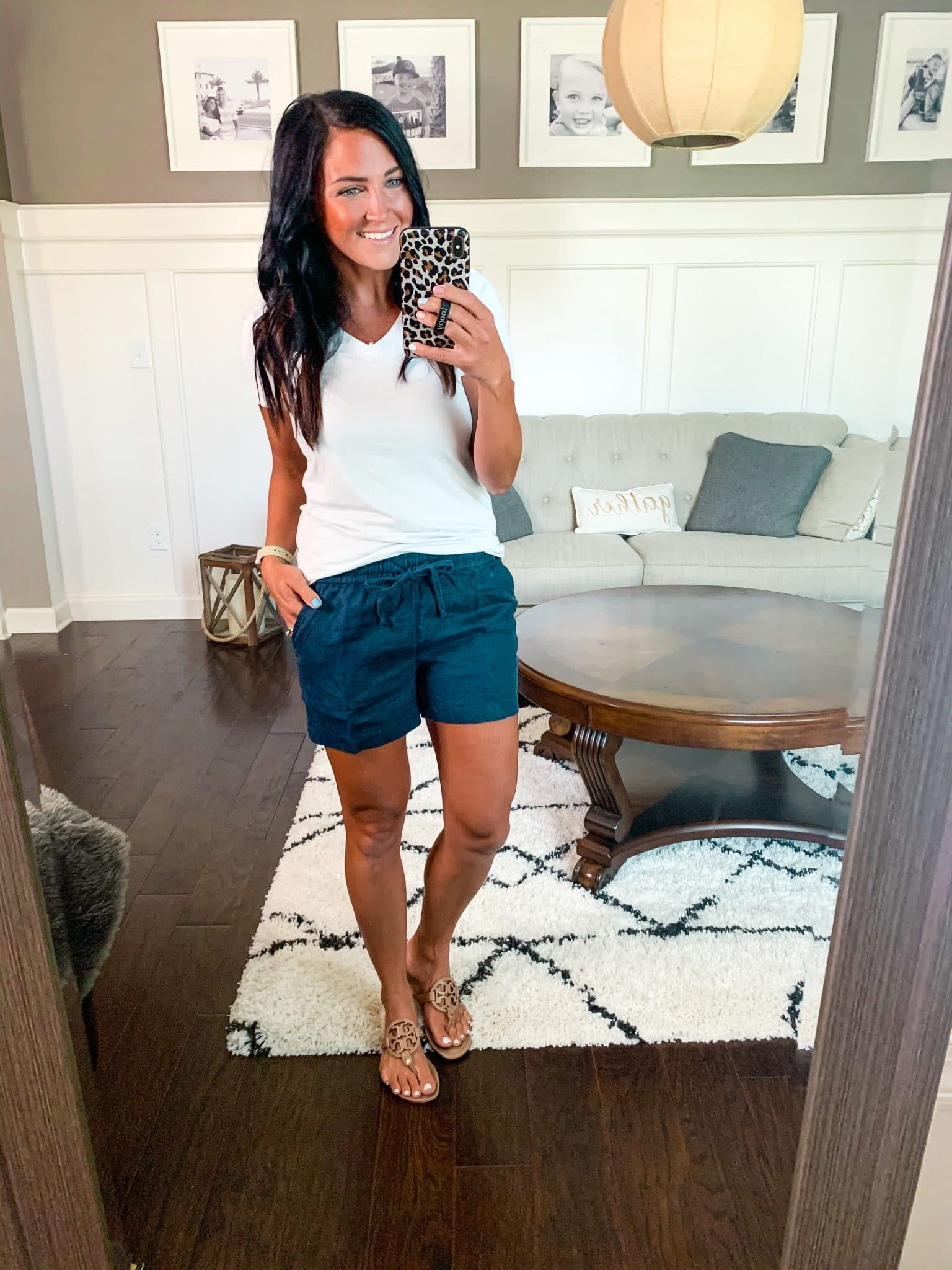 Casual Linen shorts, Summer Style, Amazon Haul, Stilettos and Diapers, Molly Wey