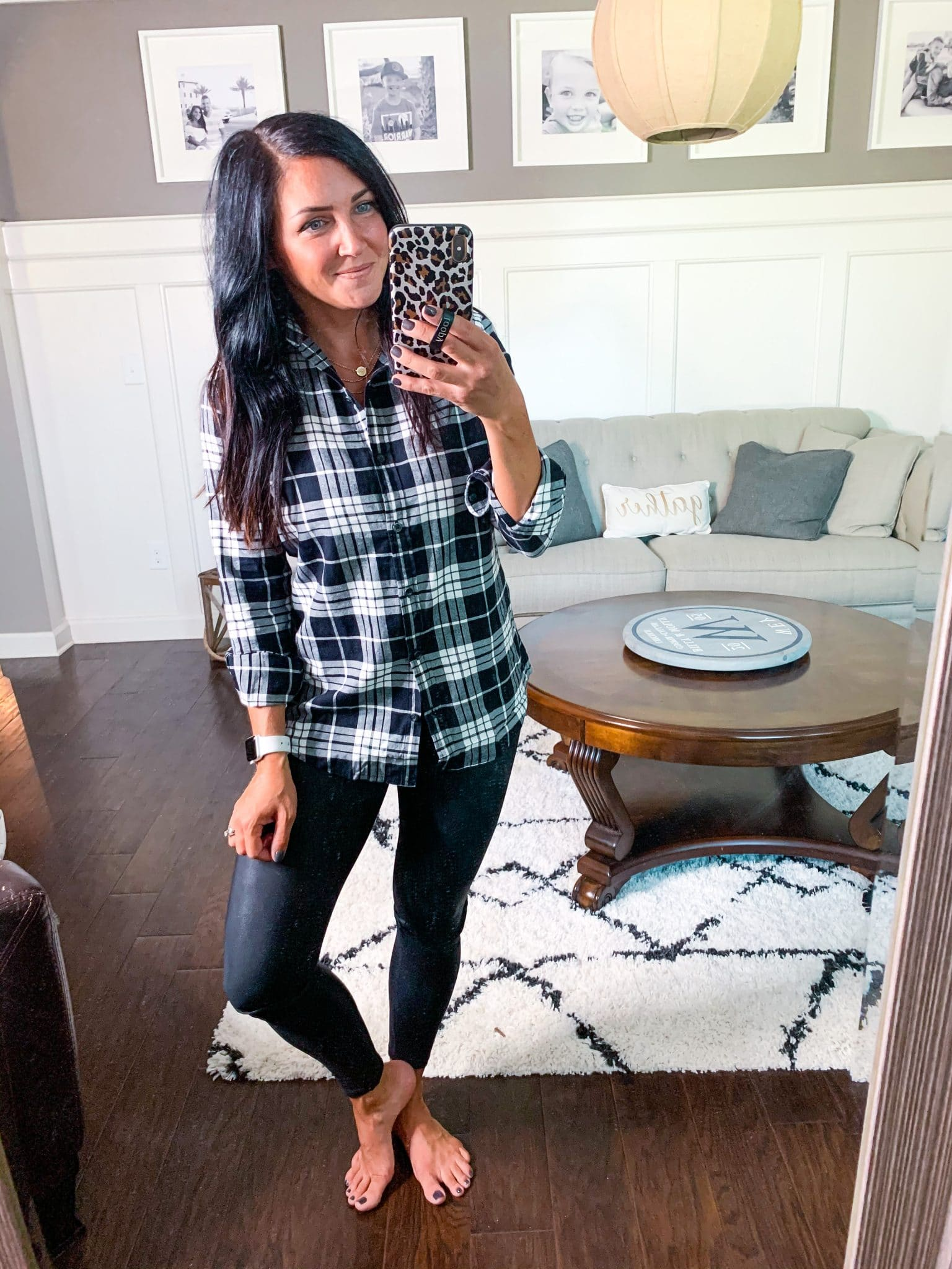 Fall Style, Mom Style, Stilettos and Diapers, Molly Wey, Amazon Fashion, Best Plaid Flannel Top