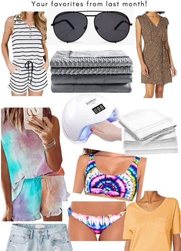 July Best Sellers, Stilettos and Diapers