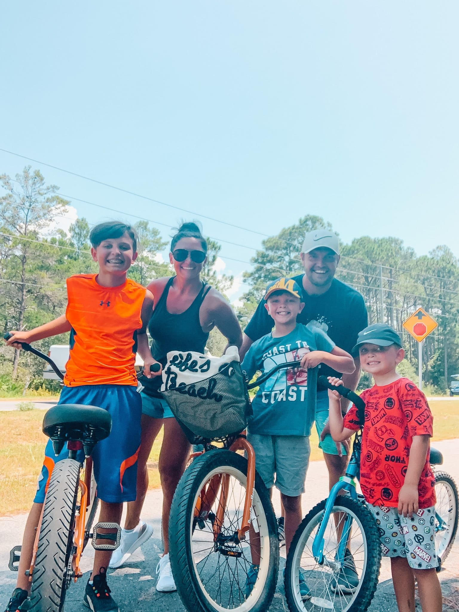 30A Vacation, Bike Rental Rent Gear Here, Blue Mountain Beach, Florida, Stilettos and Diapers