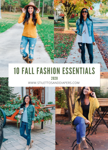 Fall Fashion Essentials 2020, Stilettos and Diapers
