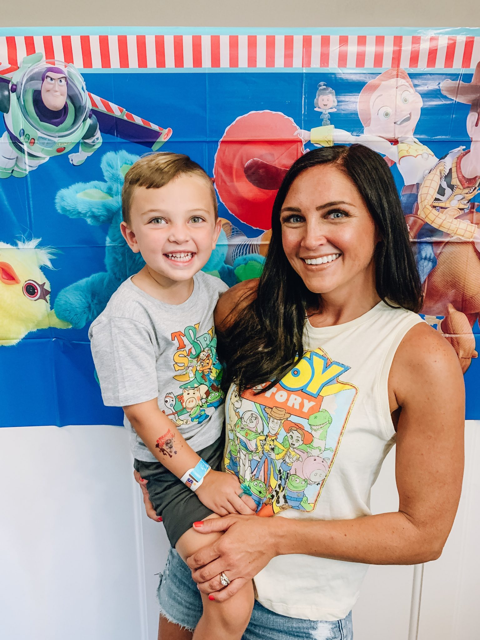 4th Toy Story Birthday Party, Stilettos and Diapers