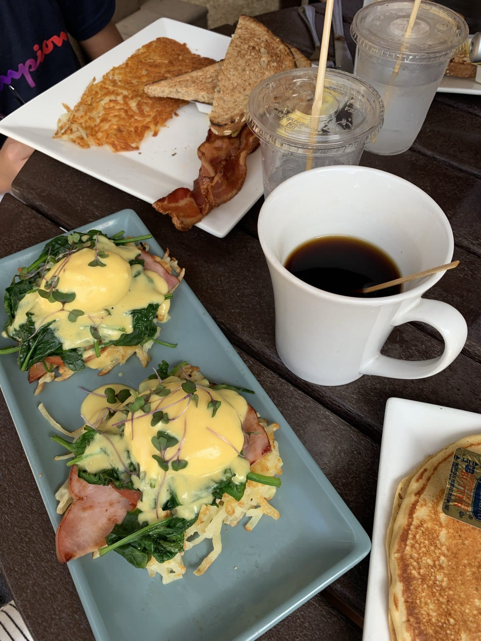 Watusi Cafe, Hilton Head Island Brunch, Stilettos and Diapers