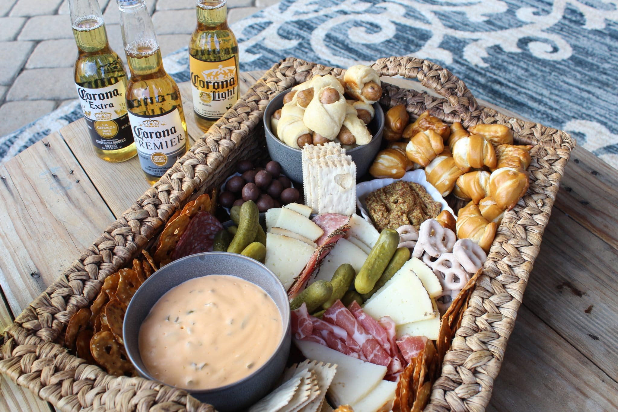 Corona Beer, How to create a Beer Charcuterie Board, Stilettos and Diapers