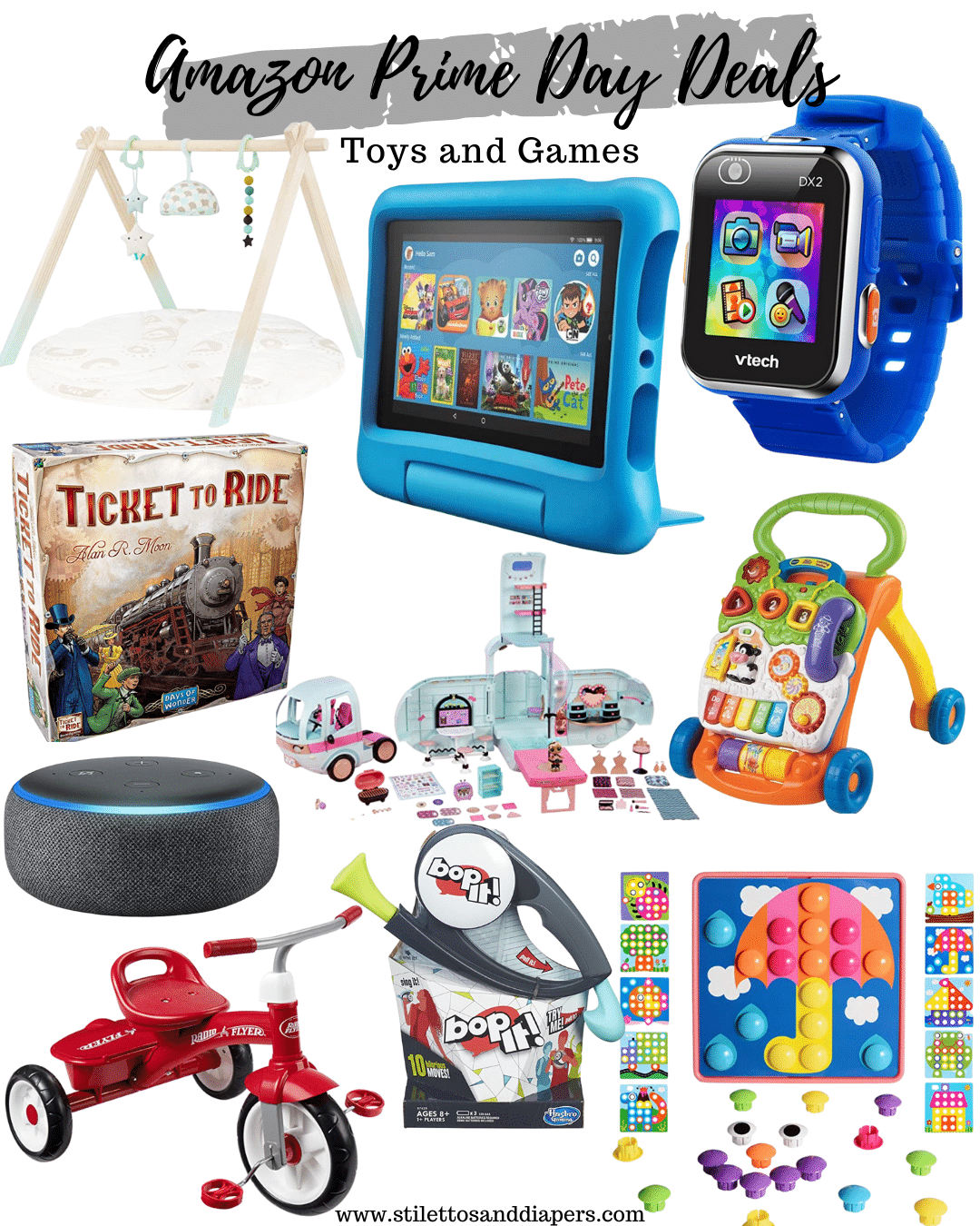 Best Prime Day Toys and Games 2020, Stilettos and Diapers
