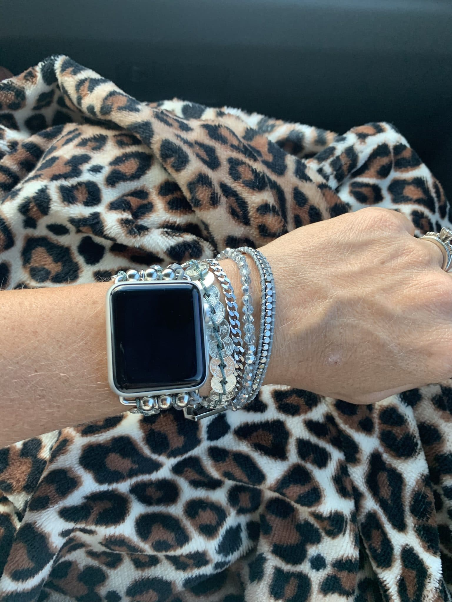 Victoria Emerson Wrap Apple Watch band, bracelet apple watch band, Stilettos and Diapers