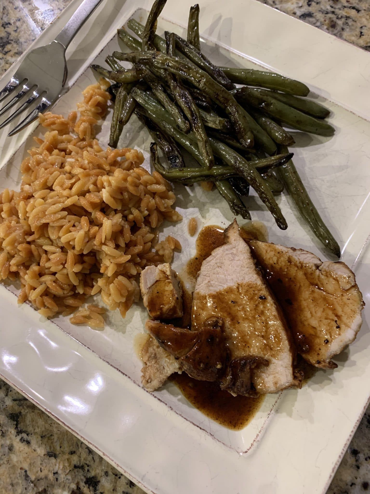 Simple Instant Pot Pork Loin, Stilettos and Diapers