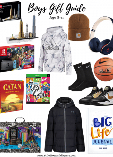 Boys Gift Guide 8-11, Boys Christmas Ideas, Stilettos and Diapers