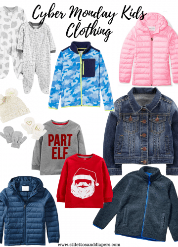 Cyber Monday Kids Clothing Deals, Amazon Finds, Stilettos and Diapers