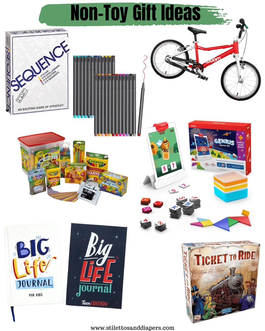 Non Toy Gift Ideas, Stilettos and Diapers