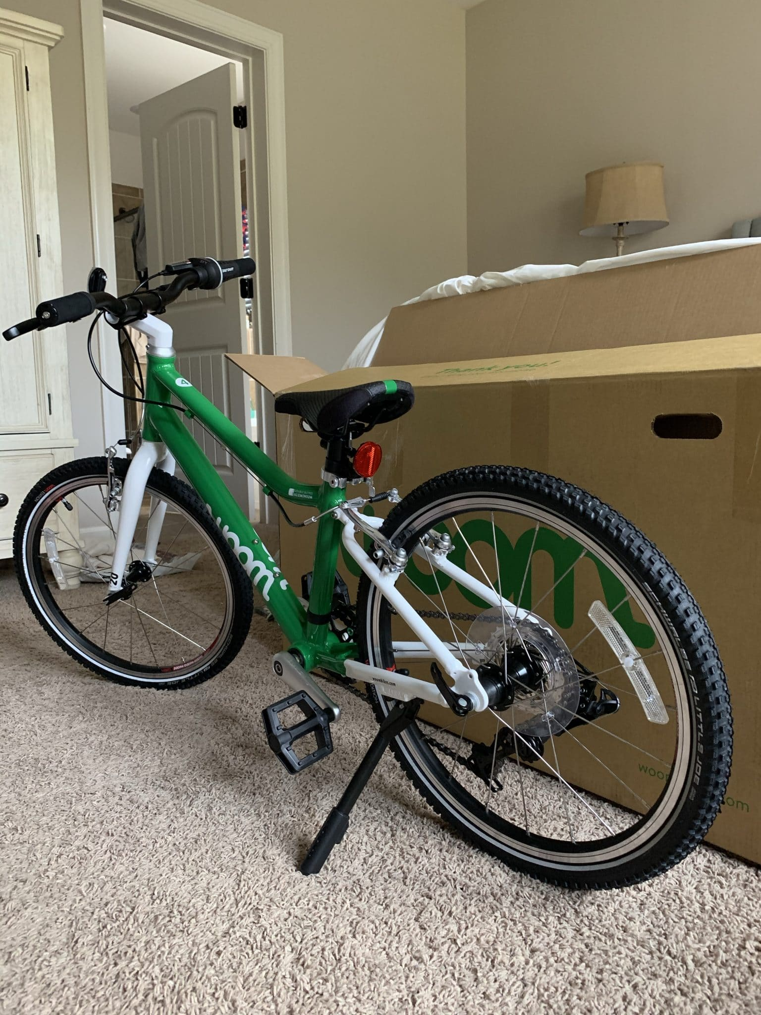 woom bikes easy assembly, woom bikes review, stilettos and diapers