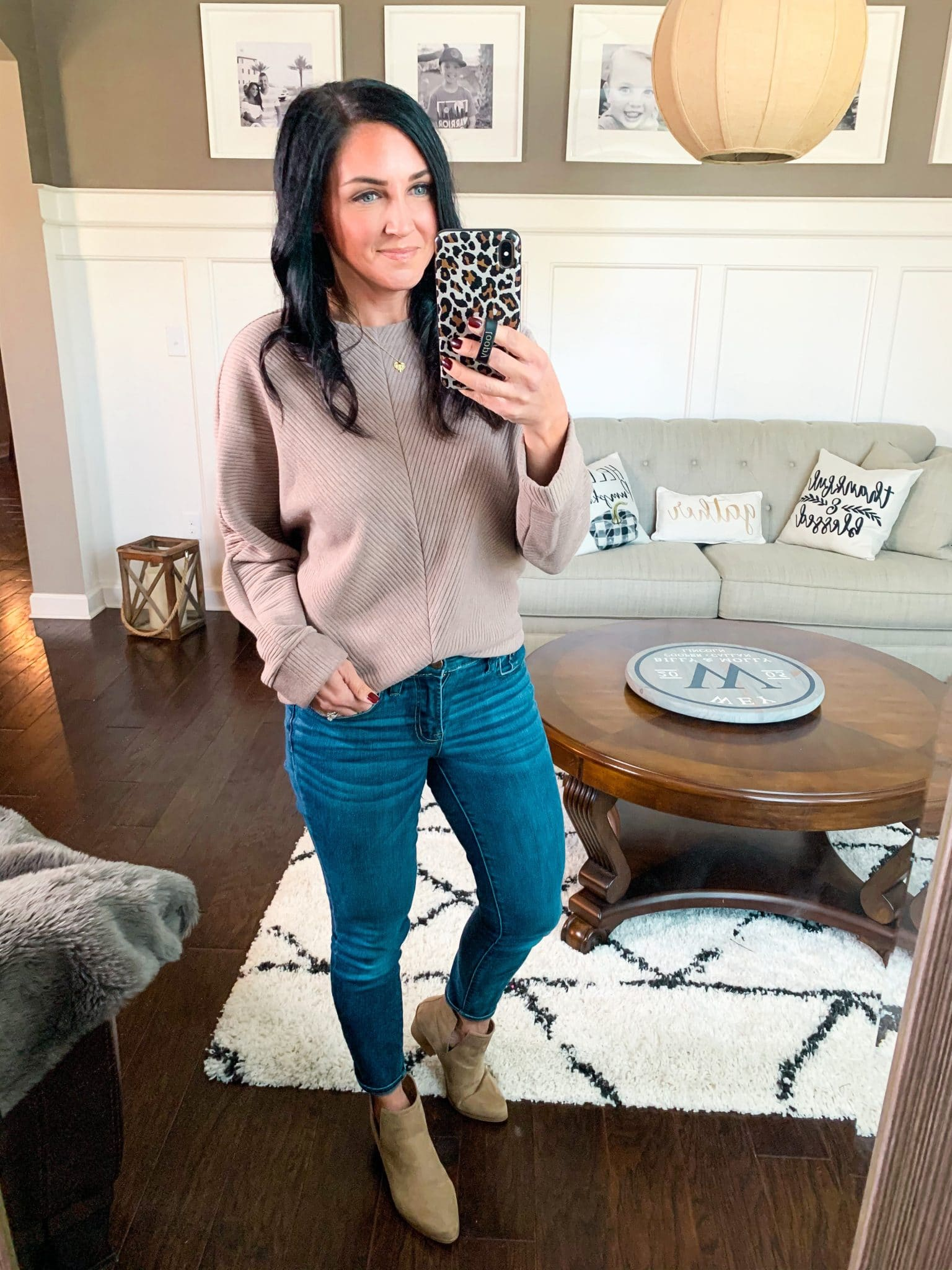 Textured pullover, Target Style, Stilettos and Diapers, Molly Wey