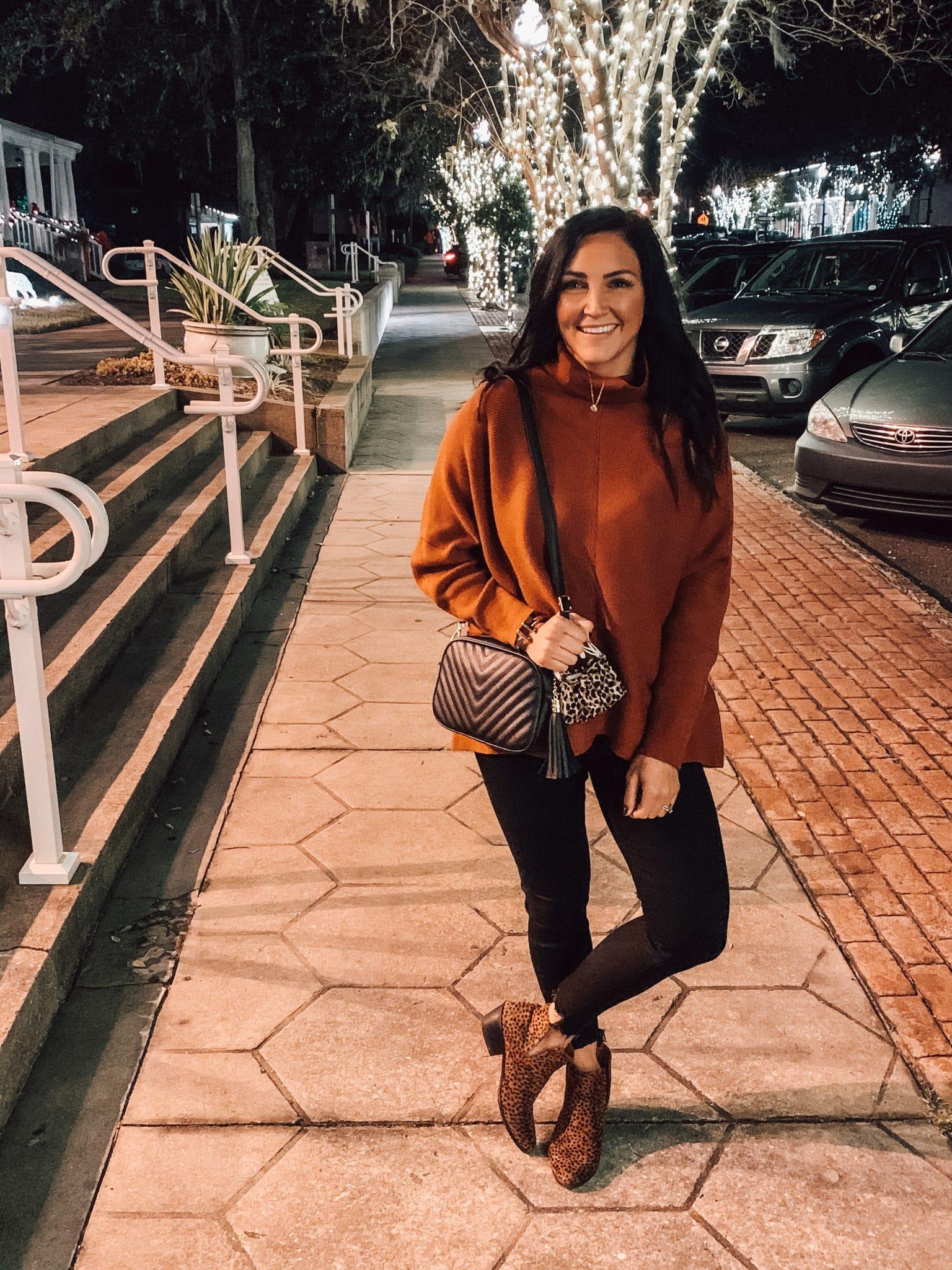 Amazon Sweater, Best Amazon winter fashion, #Founditonamazon, Stilettos and Diapers