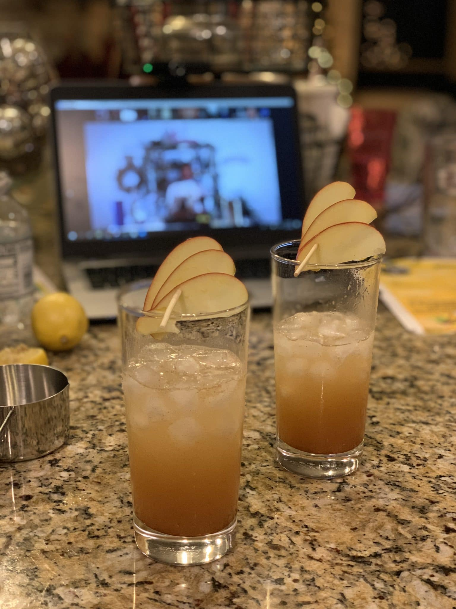 Apple Spiced Moscow Mule, Holiday Cocktail, Stilettos and Diapers