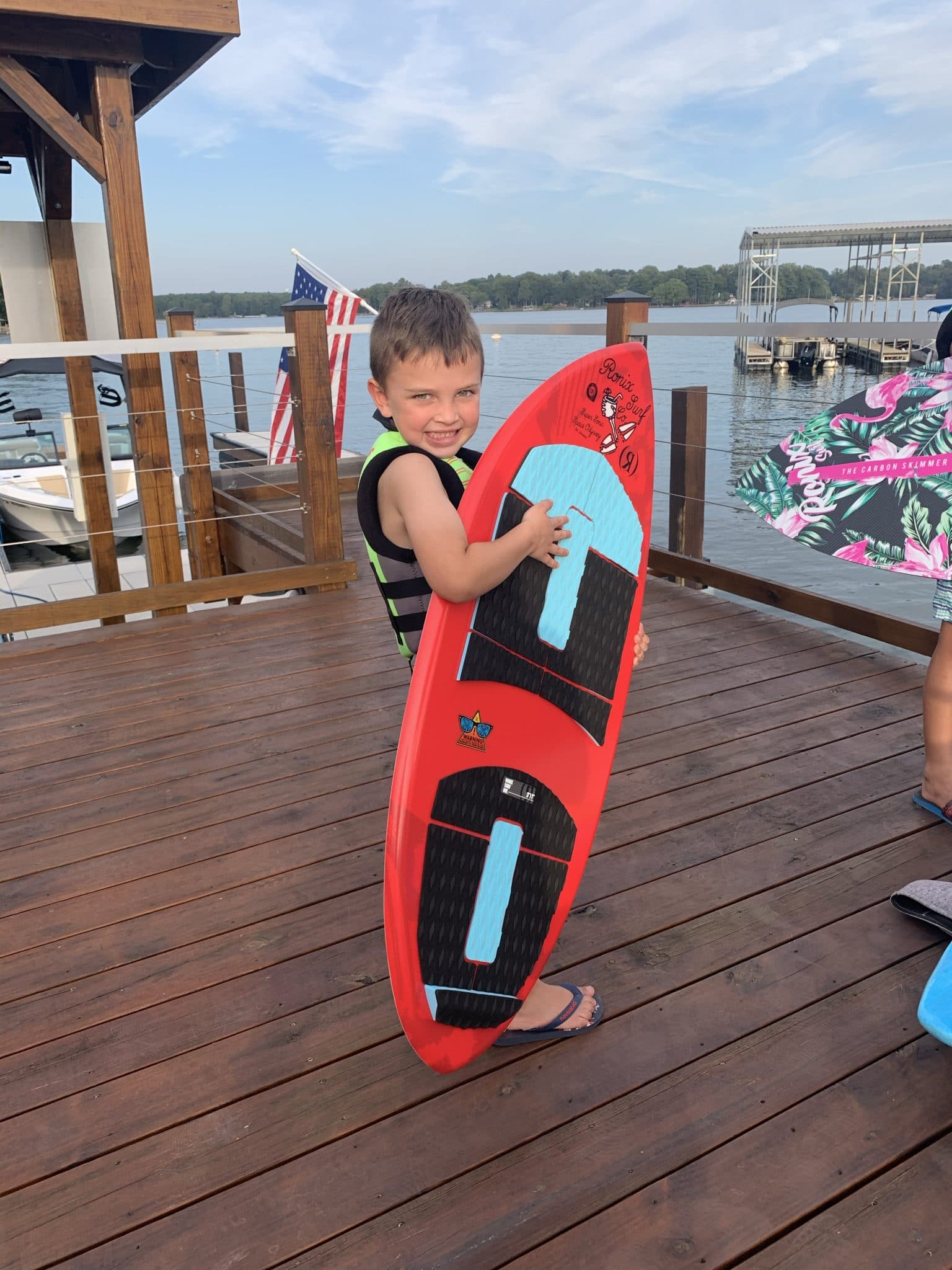 Ronix Kids Super Sonic Skimmer, Race City Marine, Mooresville, NC, Stilettos and Diapers