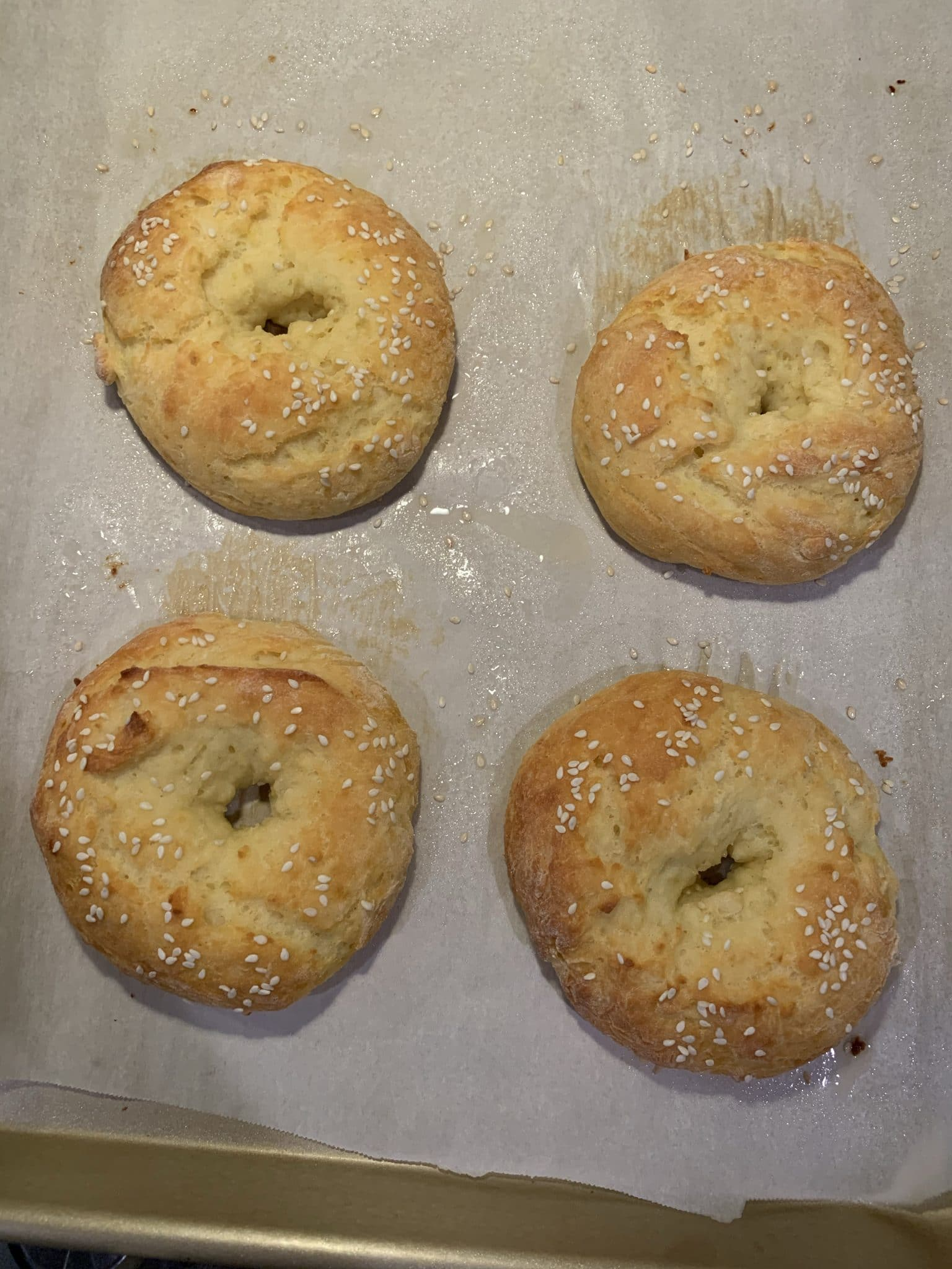 Homemade bagels, Healthy bagels, Bagels with greek yogurt, Stilettos and Diapers