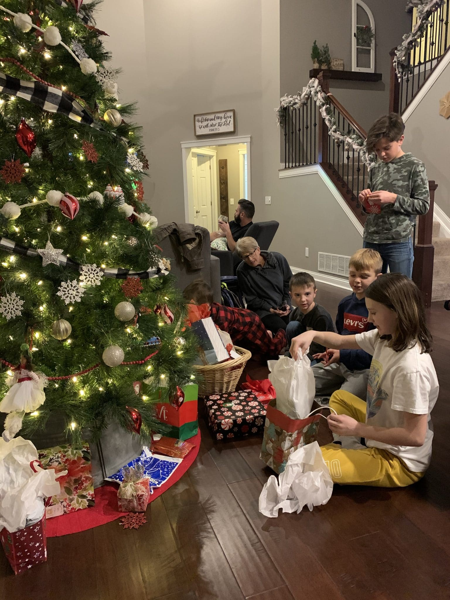 Stilettos and Diapers, Christmas 2020, Christmas with family, Ohio Christmas