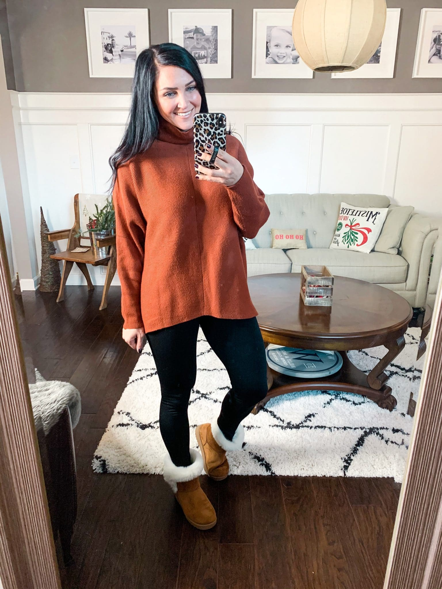 Best Amazon Sweater, Batwing turtleneck sweater, Amazon Finds, Amazon Winter Fashion, Stilettos and Diapers