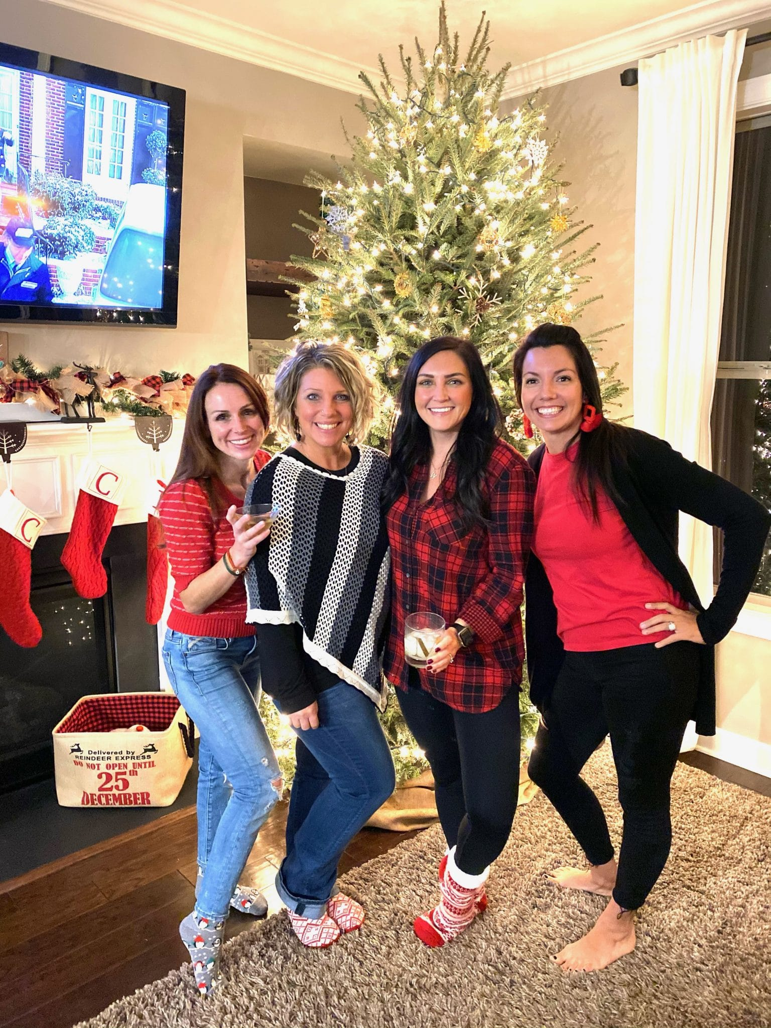 Stilettos and Diapers, Christmas 2020, Christmas with friends