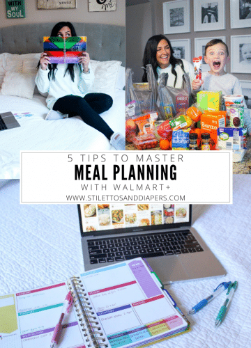 Walmart+, How to meal plan, Tips for meal planning, Family meals, Stilettos and Diapers, Molly Wey