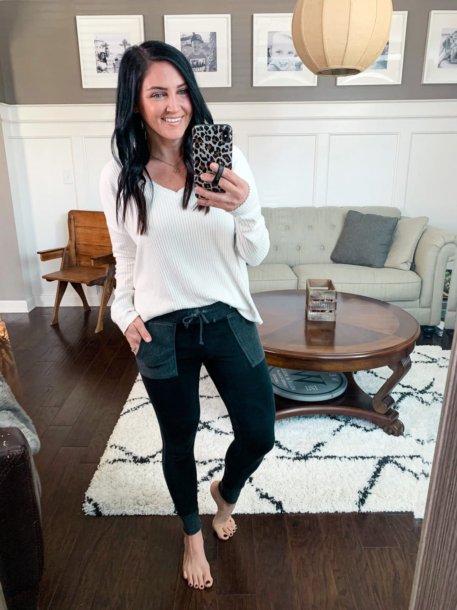 High waist pocket leggings, January Target Finds, Stilettos and Diapers, Molly Wey