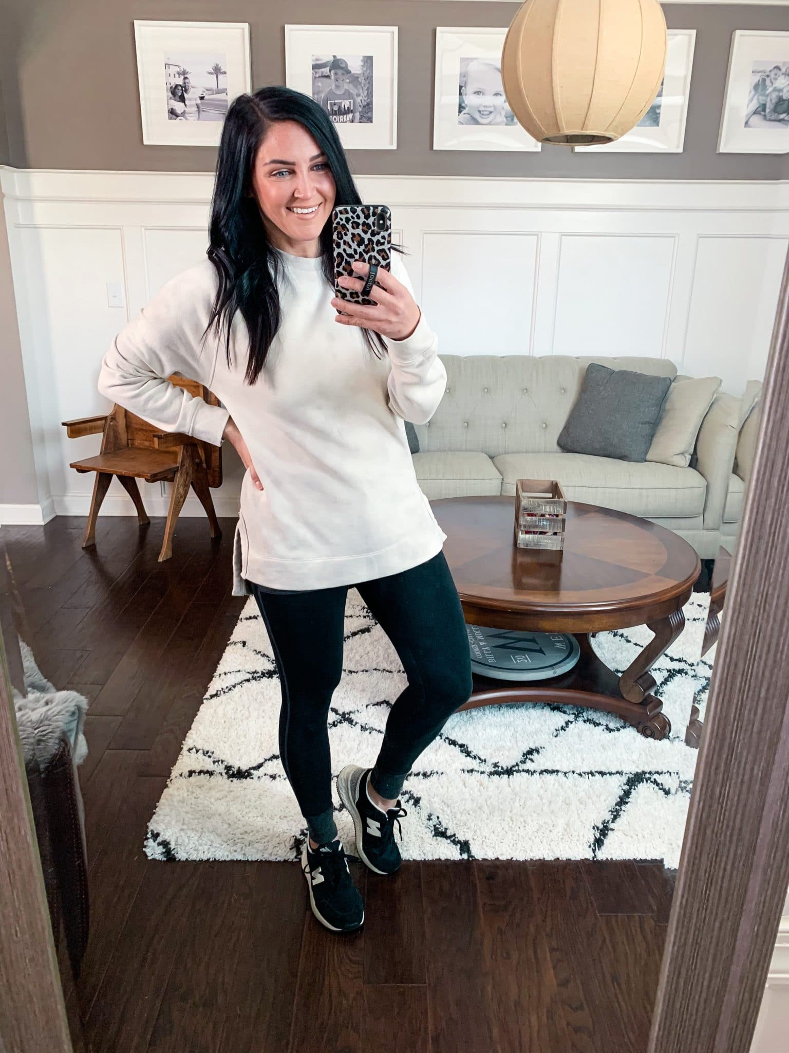 Tunic sweatshirt, January Target Finds, Stilettos and Diapers, Molly Wey