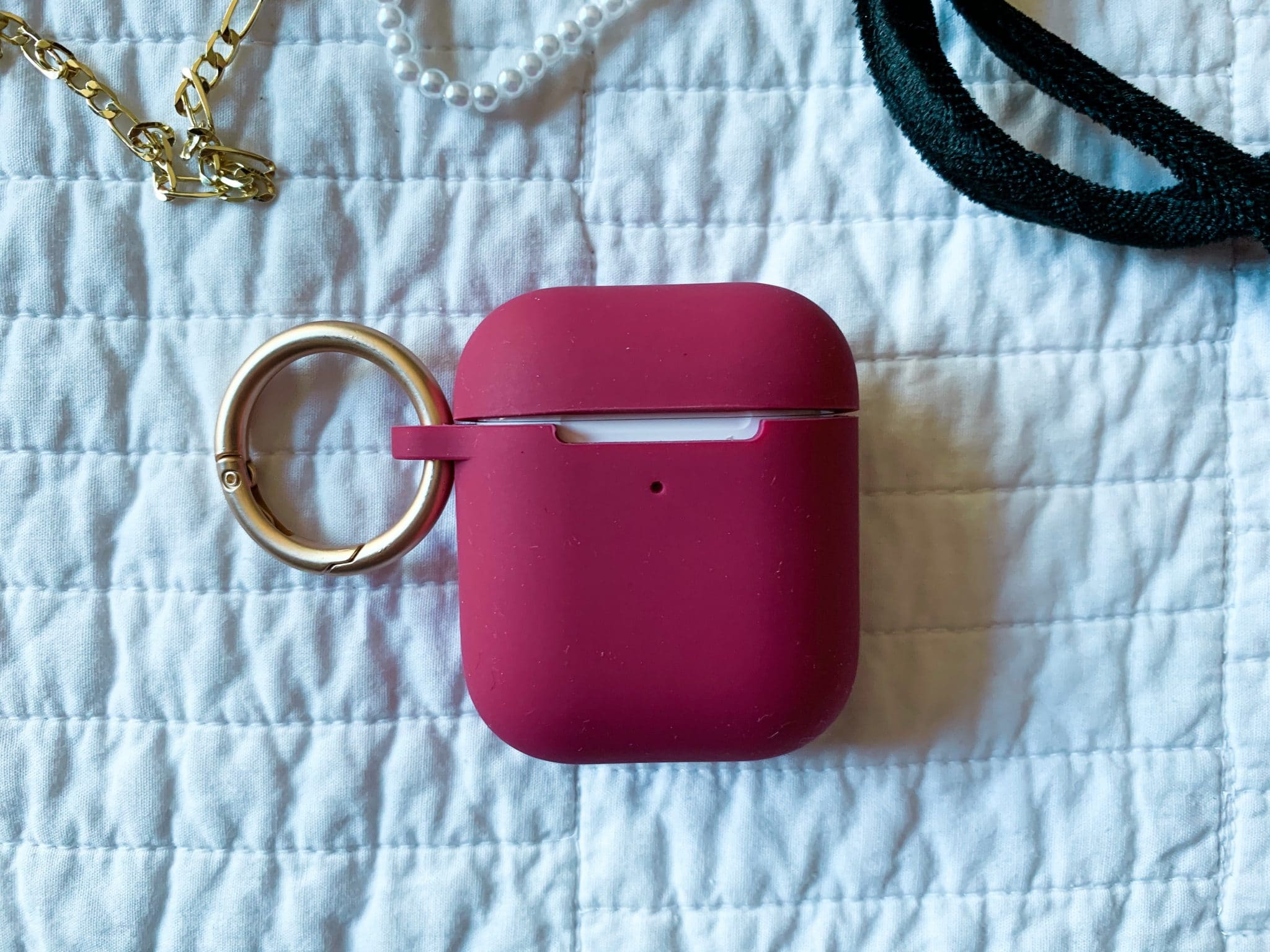 Silicone AirPod case with ring, January Target Finds, Stilettos and Diapers