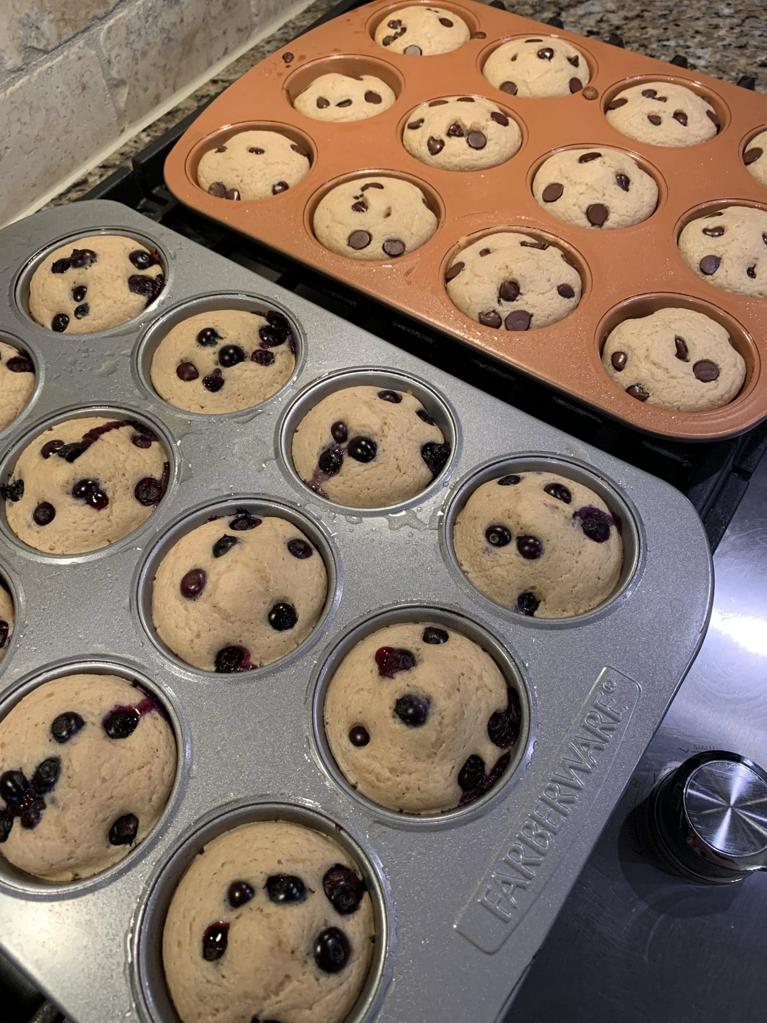 Easy Breakfast, Pancake Muffins, Stilettos and Diapers