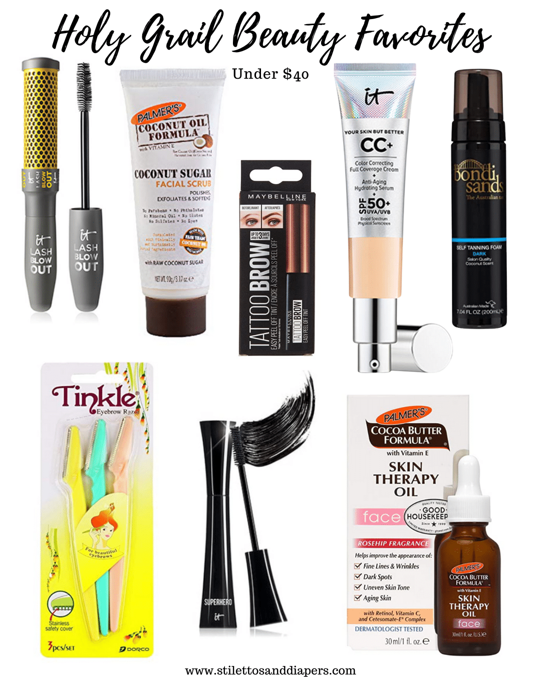 Best Beauty Products 2021, Stilettos and Diapers