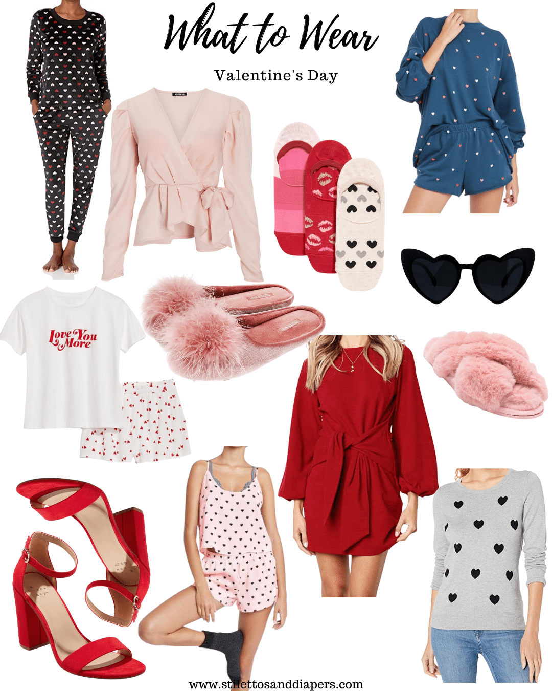 Valentine's Day Outfit Ideas, Stilettos and Diapers