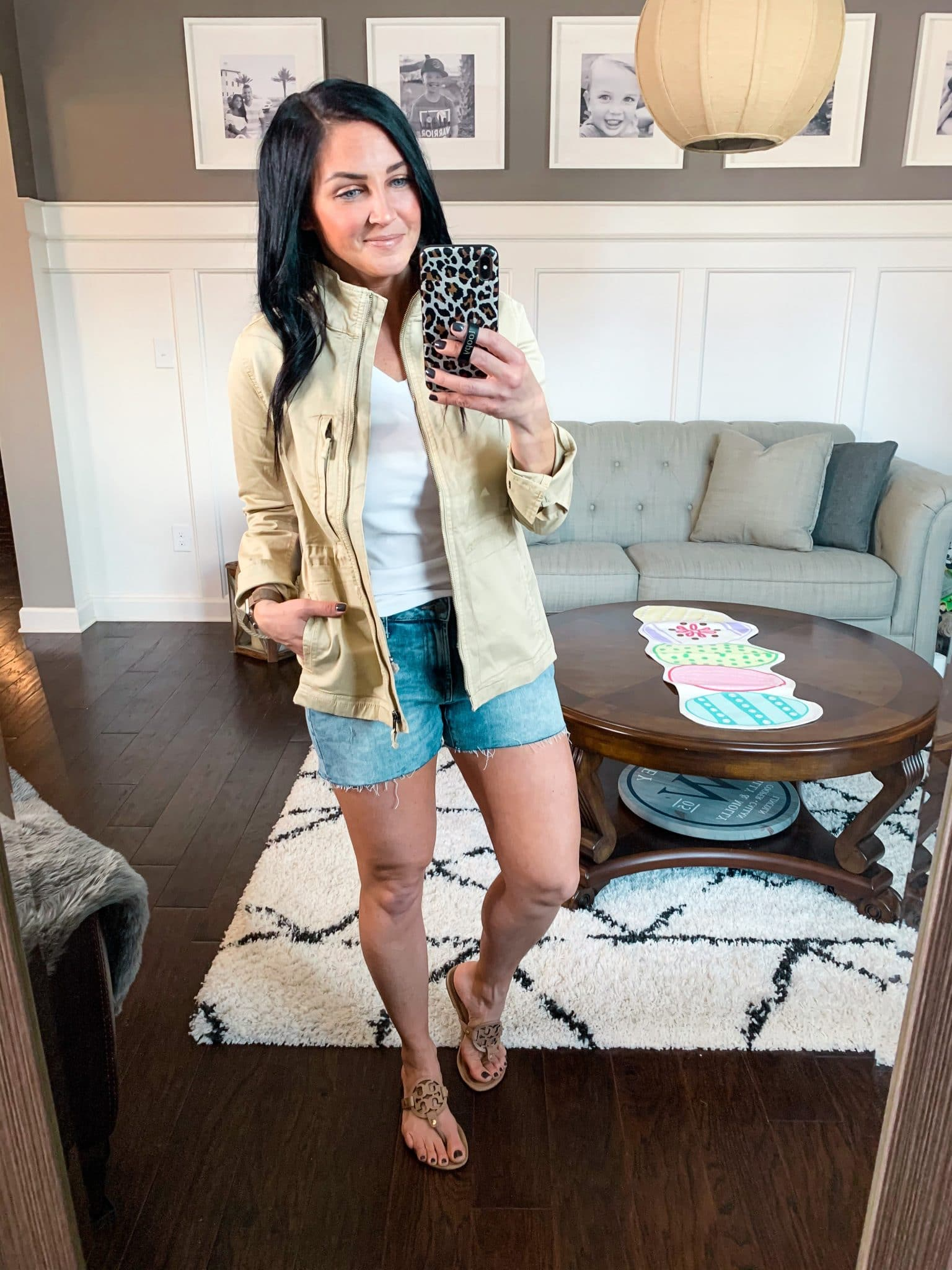 lightweight Cargo jacket, Spring Style, Amazon Spring Outfits, Stilettos and Diapers, Molly Wey