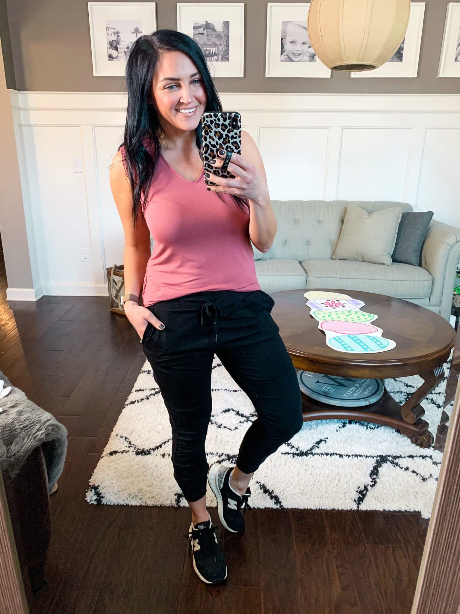 Comfy joggers, Spring Style, Amazon Spring Outfits, Stilettos and Diapers, Molly Wey