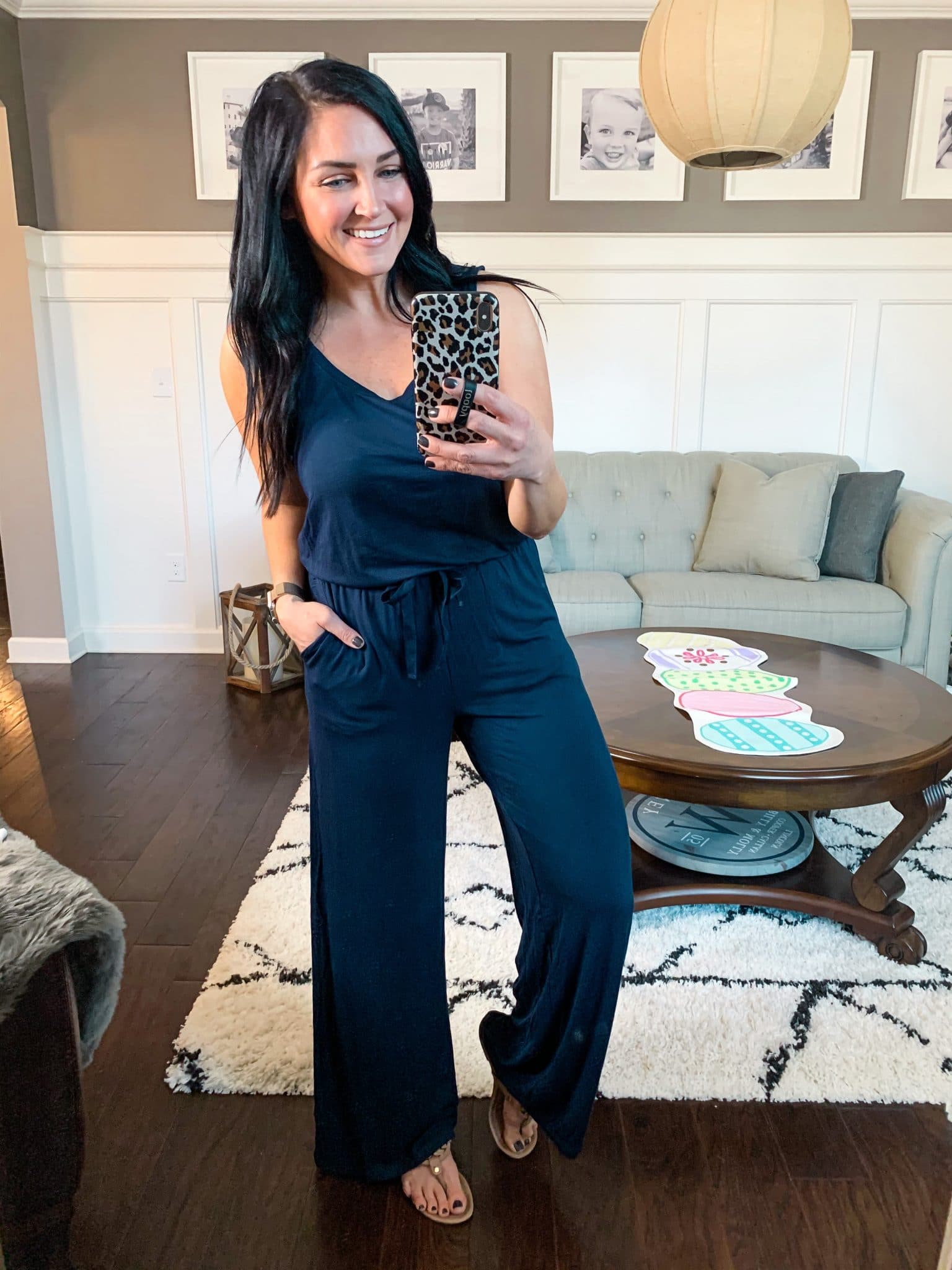 Spring jumpsuit, Spring Style, Amazon Spring Outfits, Stilettos and Diapers, Molly Wey