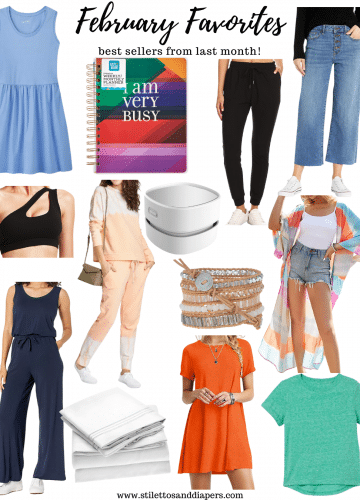 February Favorites, Best sellers, Amazon finds, Stilettos and Diapers