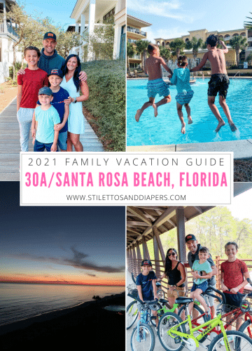 30A, Santa Rosa Beach, Destin, Florida vacation 2021, Stilettos and Diapers