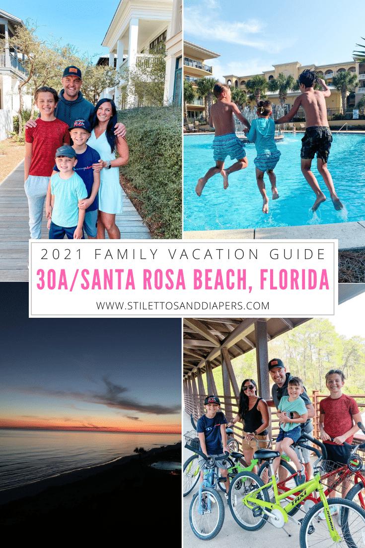 30A, Santa Rosa Beach, Destin, Florida vacation 2021, Stilettos and Diapers