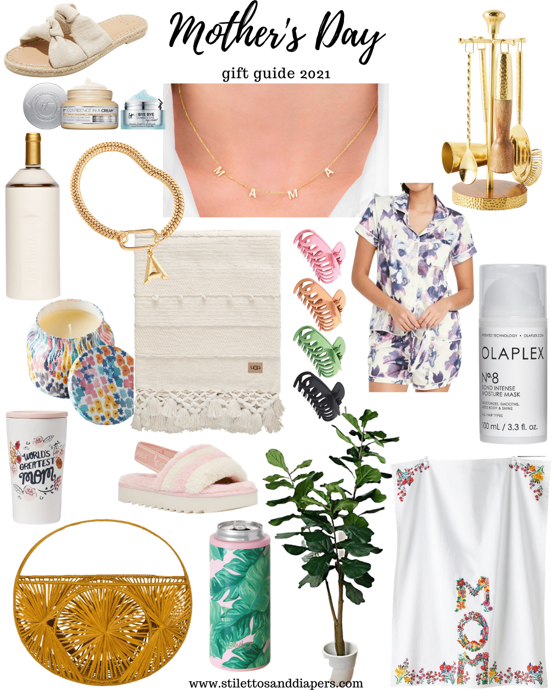 Mother's Day Gift Guide 2021, Stilettos and Diapers