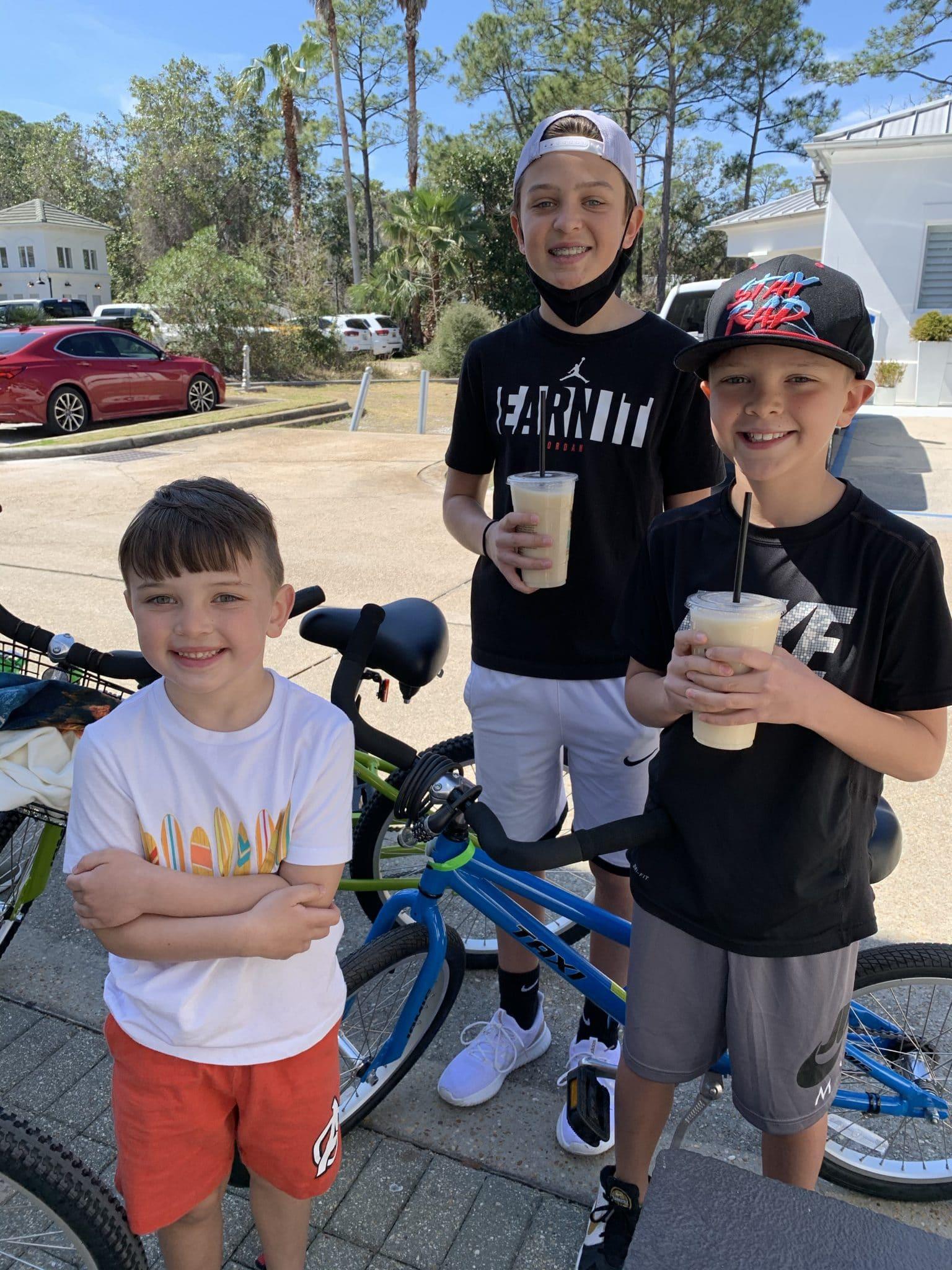 Badass coffee company, Grayton Beach, 30A, Destin, Florida vacation 2021, Stilettos and Diapers