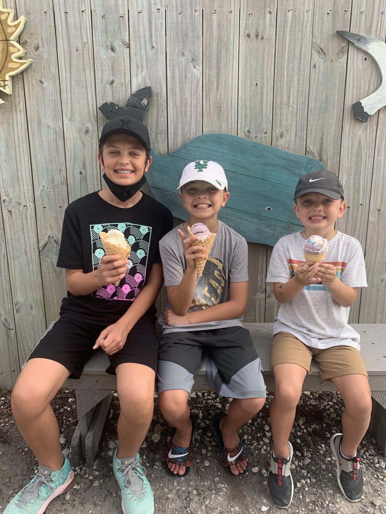 Blue Mountain Beach Creamery, 30A, Destin, Florida vacation 2021, Stilettos and Diapers