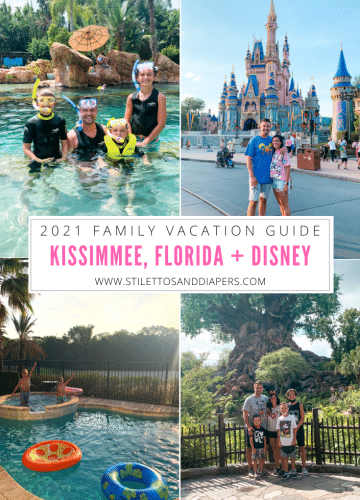Kissimmee Florida and Disney Family Vacation Guide, Stilettos and Diapers
