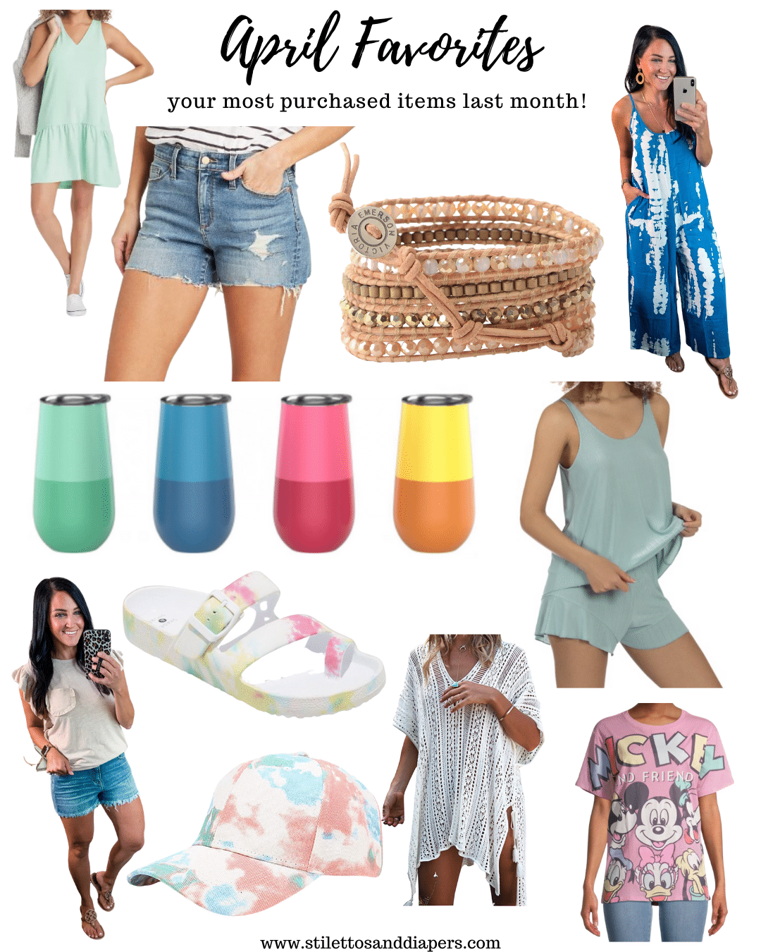 April Favorite Purchases, Stilettos and Diapers