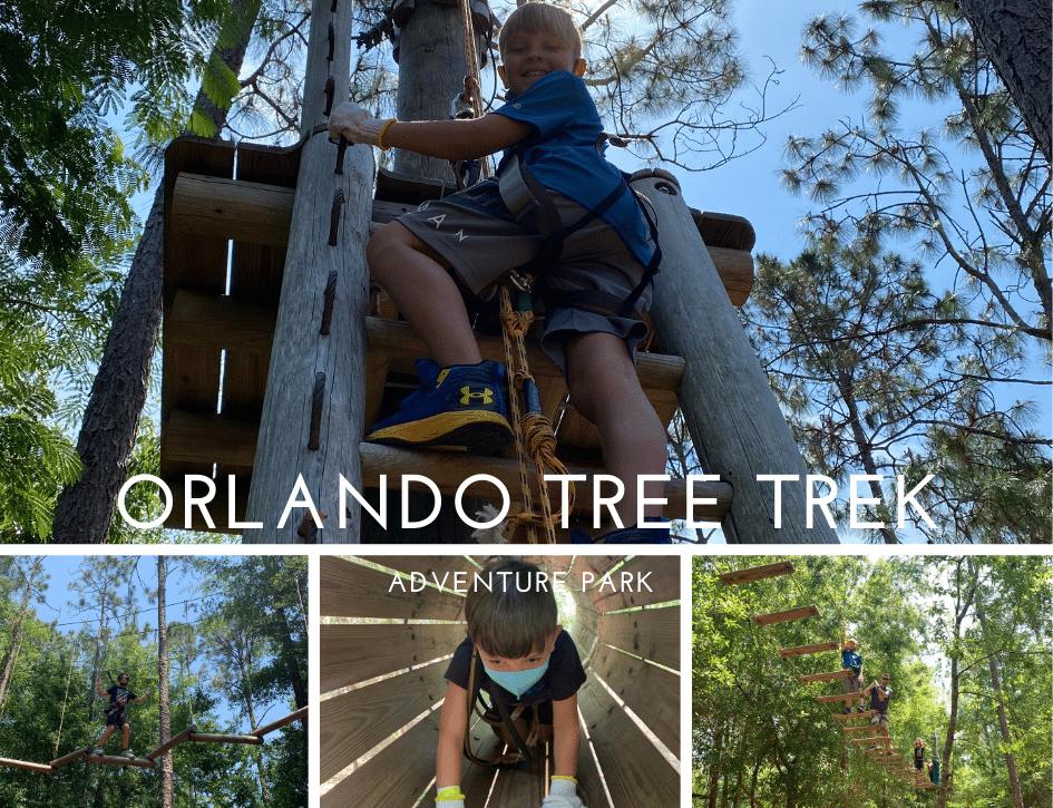 Orlando Tree Trek, Zip Line adventure Park, Stilettos and Diapers