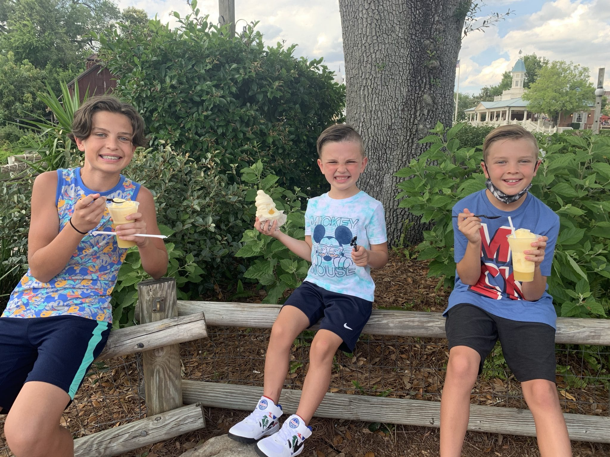 Dole Whip, Disney World Family Vacation 2021, Stilettos and Diapers